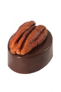 Pralinka s pekanovým ořechem